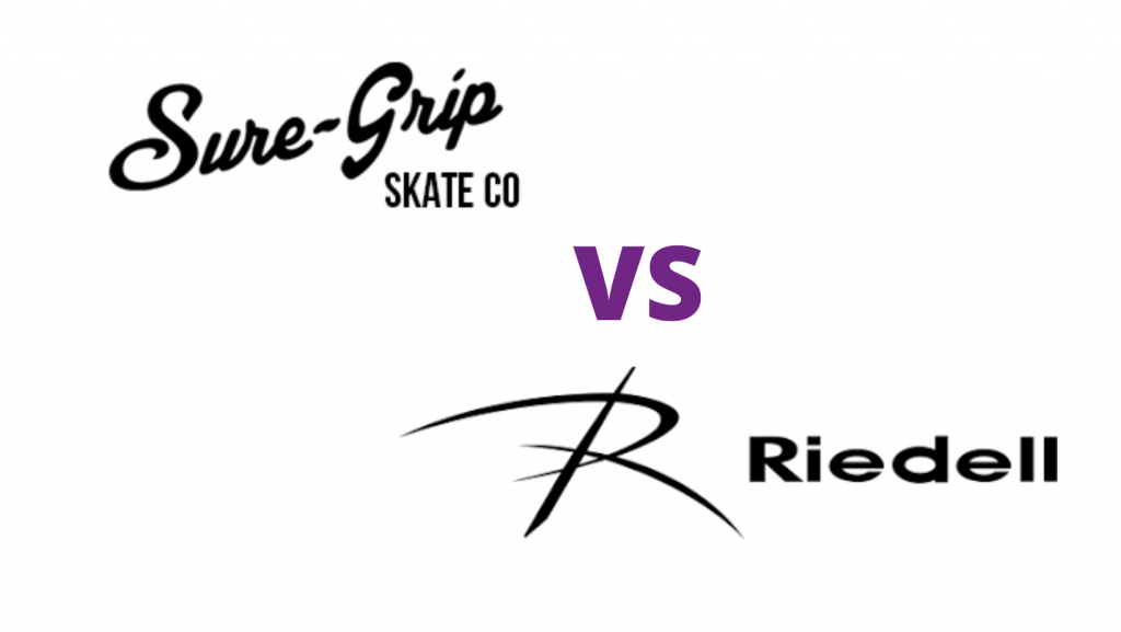 Sure grip skates vs riedell skates