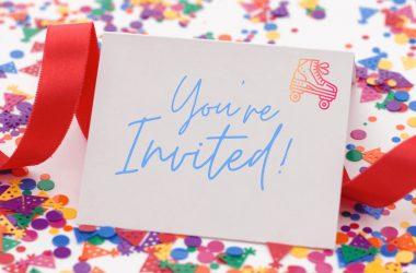 Roller Skating Party Invitation Wording Ideas