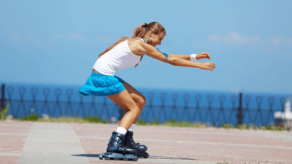 how to balance while skating