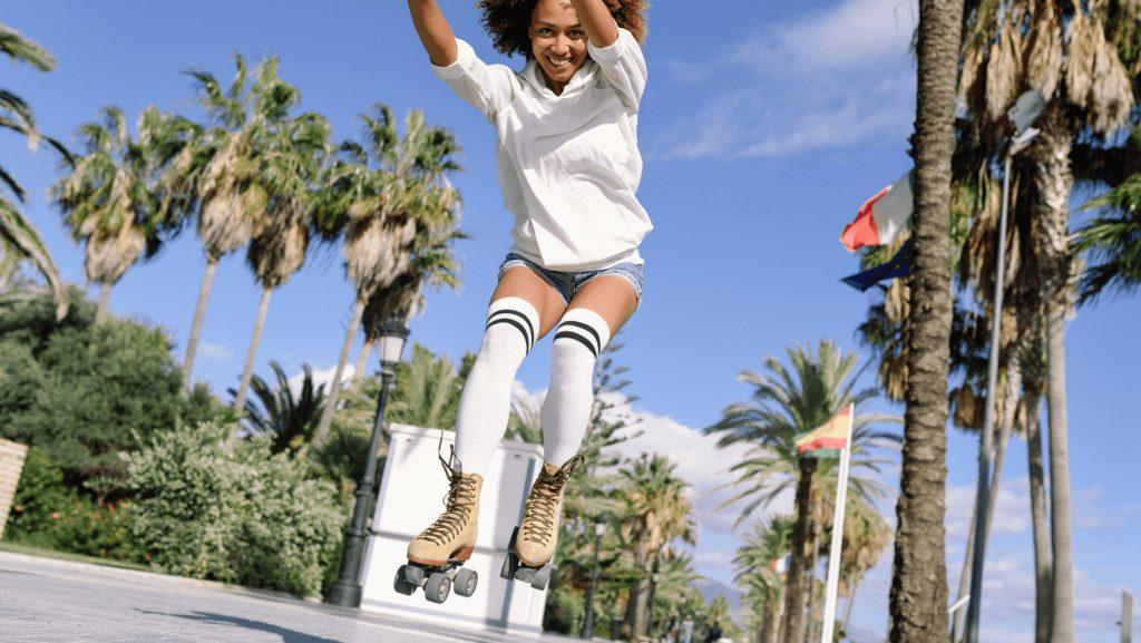 jump on skates