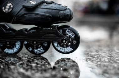 how to roller skate on uneven ground